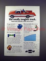 1971 Chevrolet Pickup Truck Ad - Totally Tougher