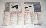 1972 Mauser HSc Pistol & Interarms Mark X Rifle Gun Ad