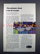 1972 Beechcraft Duke Plane Ad - Adventure Classic