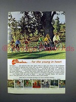 1972 Schwinn Bicycle Ad - the Young in Heart!