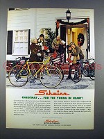 1972 Schwinn Bicycle Ad - For the Young in Heart!