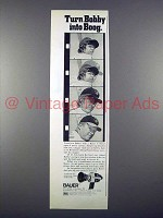1972 Bauer C Royal Movie Camera Ad w/ Boog Powell!