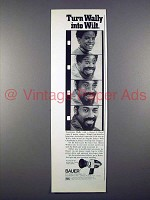 1972 Bauer C Royal Movie Camera Ad w/ Wilt Chamberlain