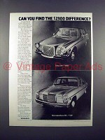 1972 Volvo 164 Car Ad - Can You Find the Difference?