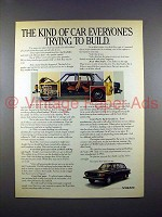 1972 Volvo 144 Car Ad - Everyone's Trying to Build!