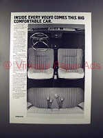 1972 Volvo Car Ad - Big Comfortable Car