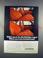 1972 Audi 100LS Car Ad - Which one is $3,900?