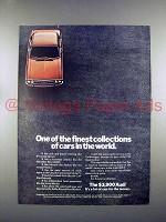 1972 Audi 100LS Car Ad - Finest Collection of Cars!