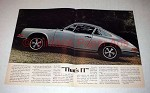 1973 Porsche 911 Car Ad - That's It!