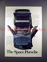 1972 Porsche 914 Car Ad  - The Space Porsche!