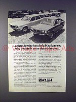 1972 Mazda RX-3 Station Wagon, RX-3 Coupe Car Ad!