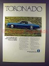 1973 Oldsmobile Toronado Car Ad!