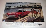 1972 Chevrolet Impala Car Ad - Starts You Relaxing!