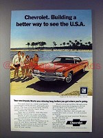 1972 Chevrolet Impala Car Ad - Better Way to See USA