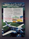 1977 Beechcraft Baron 58 Plane Ad - Packing Bags
