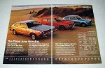 1977 Honda Accord, Civic CVCC, Civic Sedan Car Ad!
