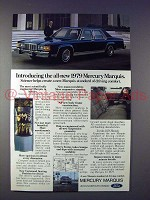 1979 Mercury Marquis Car Ad - Introducing All-New!
