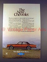 1978 Chevrolet Car Ad - The New Chevrolet!