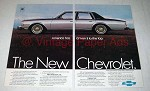 1979 Chevrolet Caprice Car Ad - Driven to the Top!