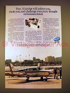 1979 Beechcraft Sierra Plane Ad - Will Excite You!