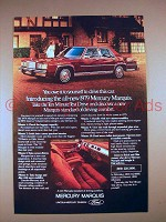 1979 Mercury Marquis Car Ad - Owe it To Yourself!
