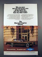 1981 Chevrolet Caprice Classic Car Ad - More Traded