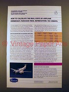 1982 Beechcraft King Air F90 Plane Ad - Calculate Costs