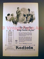 1925 RCA Radiola Super-Heterodyne Radio Ad - The Fun