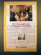 1927 RCA Radiola 28 Radio Ad - Greater but Simpler
