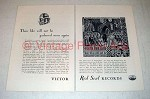 1928 Victor Red Seal Records Ad -
