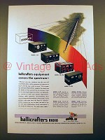 1945 Hallicrafters Radio Ad - S-37, S-36, SX-28A, S-22R