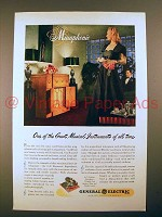 1946 General Electric Musaphonic Radio-Phonograph Ad