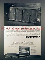 1966 Motorola Stereo Radio Ad - First Fresh Idea