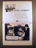 1947 Du Mont Sherwood Teleset Television Ad - Experience