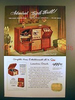 1948 Admiral Triple Thrill Television Advertisement