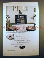 1949 Du Mont Colony Television Ad - Leadership!