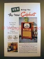 1950 IT&T Capehart Overture Television Ad!