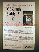 1953 Zenith Marlborough TV Ad - Moving Up!