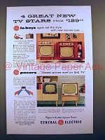 1955 GE Lo-Boy TV Ad - 21C152 21C156 17T21 21C108