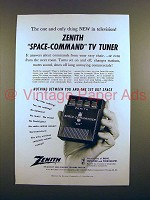 1956 Zenith Space-Commander 400 TV Remote Ad!
