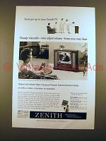 1959 Zenith Maybrooke TV & Space Command Remote Ad