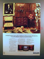 1973 Philips Television TV Ad - A Limited Number