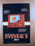 1978 Zenith System 3 Television TV Ad - A Breakthrough