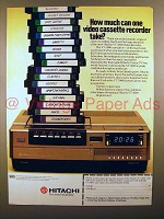 1979 Hitachi VT5000 Video Recorder Ad - How Much?