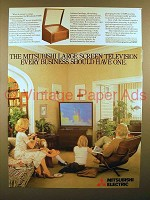 1980 Mitsubishi V8500 Large Screen Television Ad!