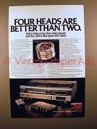 1980 JVC Vidstar VHS Video Recorder Ad!