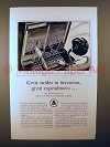 1929 AT&T Telephone Ad - Great Strides in Invention!