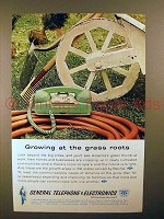 1962 General Telephone Ad - Growing Grass Roots