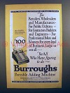 1927 Burroughs Portable Adding Machine - For All!