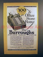 1927 Burroughs Portable Adding Machine - For Office